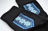 Шкарпетки чоловічі демісезонні х/б Класік вишиванка, фото 4