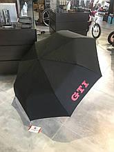 Зонт складной VOLKSWAGEN GTI POCKET UMBRELLA, 5GB087602. Оригинал. Черного цвета.
