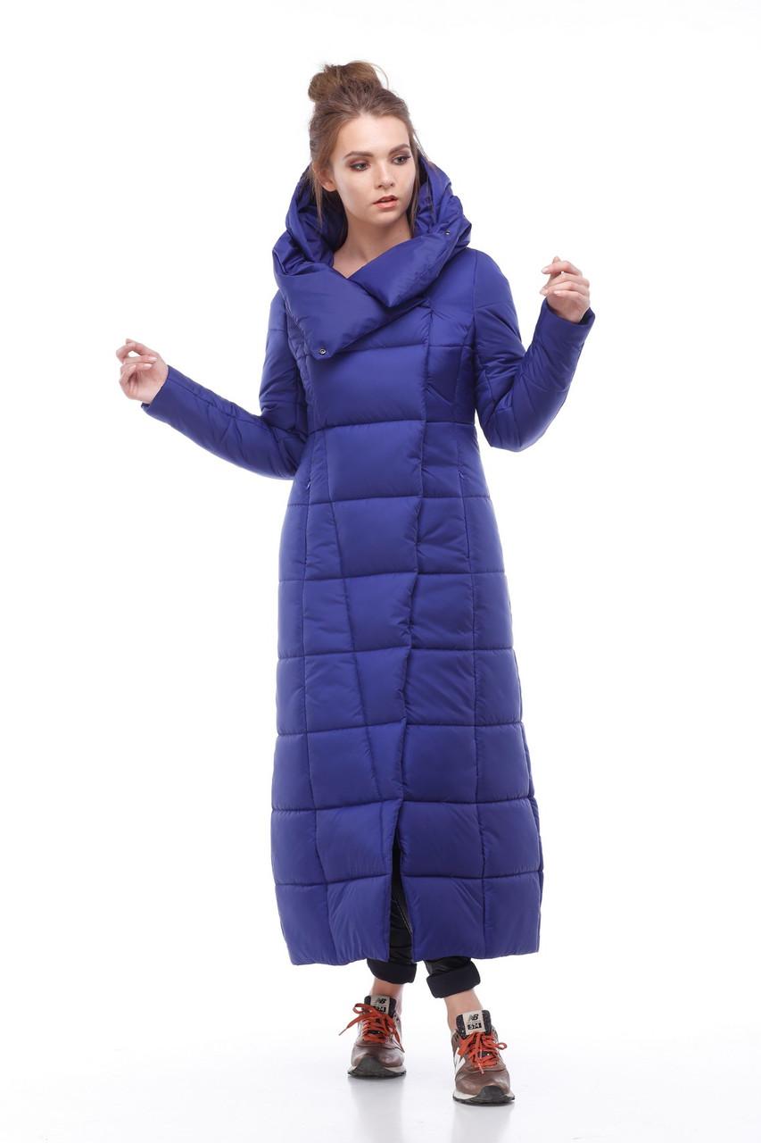 4bb1ee9672ac1 Женская модная зимняя очень теплая куртка пуховик длинная 42 - 54 большие  размеры - Интернет -