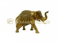 Слон с резьбой