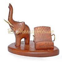 Слон  с подставкой под смартфон