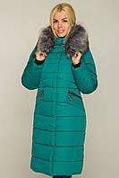 Женское теплое пальто,с мехом 44-58