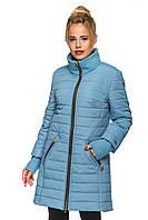 Женская демисезонная куртка - кашемир с плащевкой, фото 1