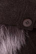 пальто демисезонное женское Modus Латте 5429, фото 3