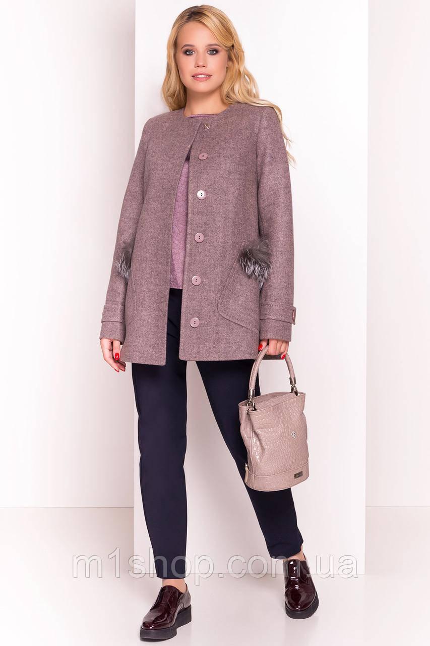 пальто демисезонное женское Modus Латте 5429