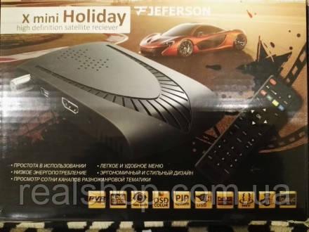 Спутниковый ресивер Jeferson X mini Holiday  + бесплатная прошивка!