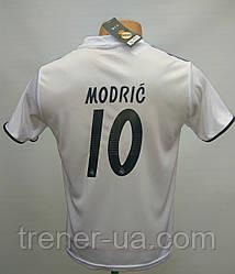 Футбольная форма детская Modric 10 белая сезон 2017-18