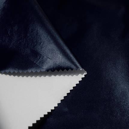 Плащівка металік (фольга) темно-синя, фото 2