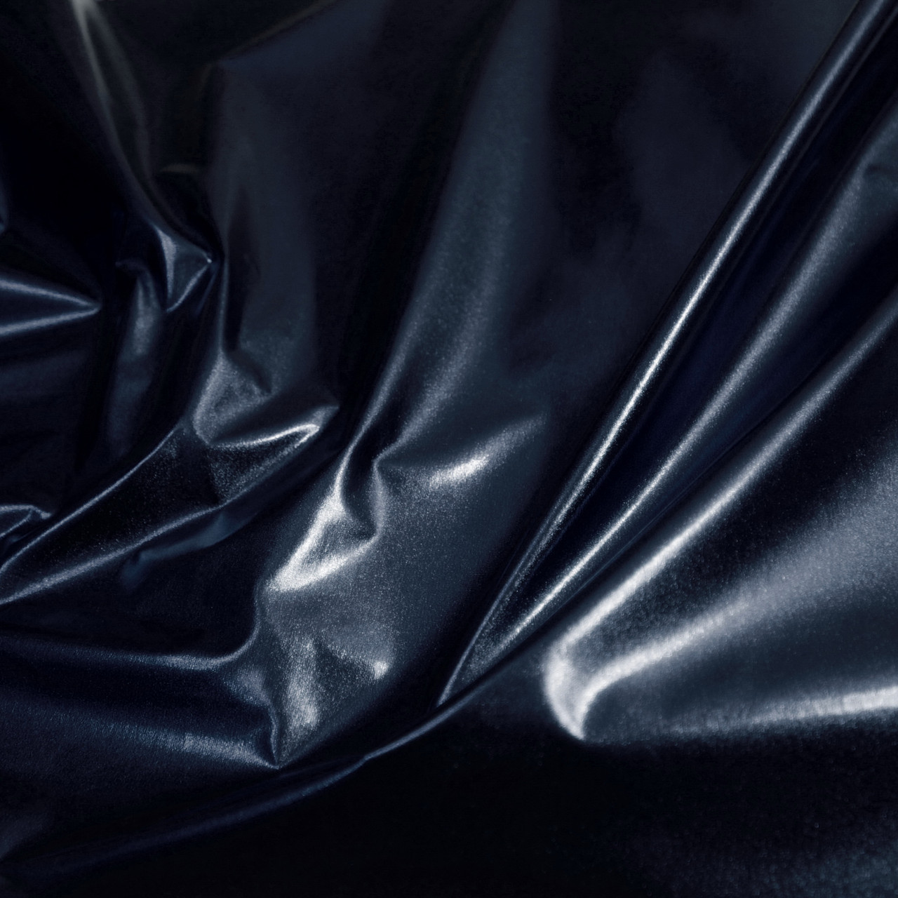 Плащівка металік (фольга) темно-синя
