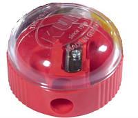 Точилка Kum с контейнером 210K пластиковая круглая 1370210K