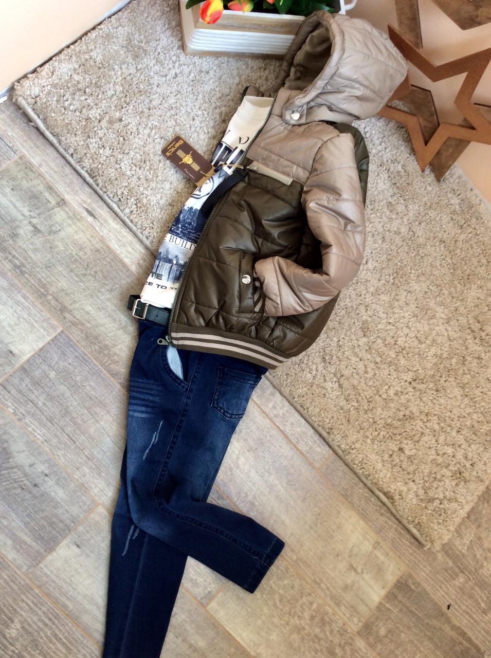 Демисезонный комплект одежды на мальчика от Beniсs 5-8 л Турция опт и  розница 43015bf9109