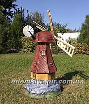 Садовая фигура Мельница большая, фото 3