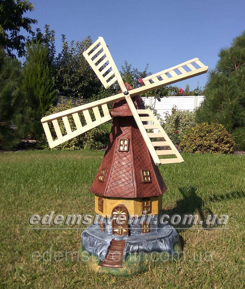 Садовая фигура Мельница большая