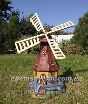 Садовая фигура Мельница большая, фото 2