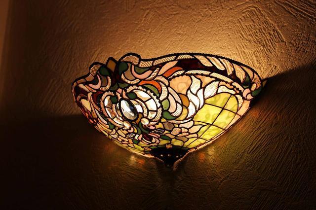 Настенный светильник Тиффани
