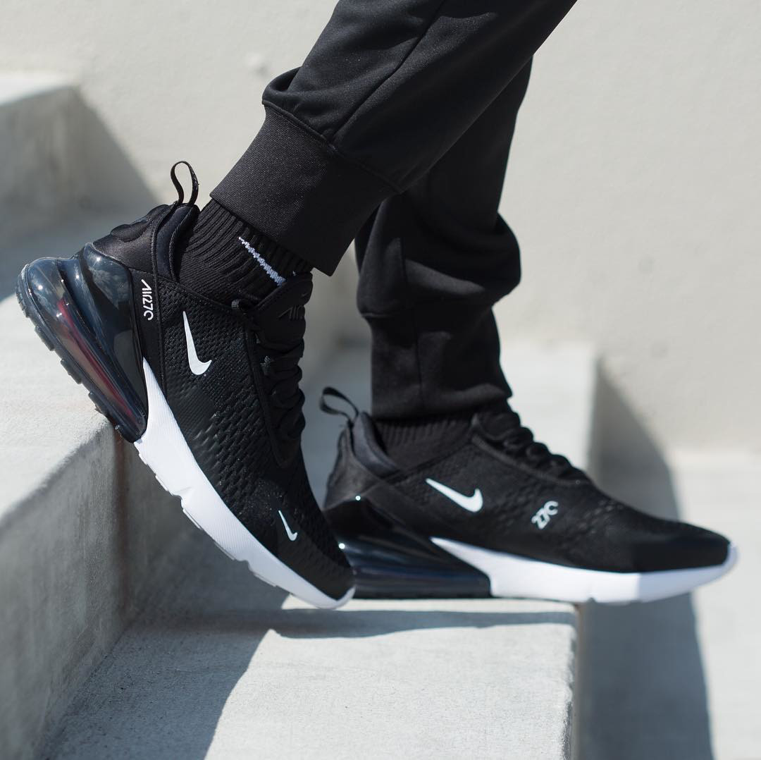 8d4c37377475 Кроссовки мужские Nike Air Max 270 Black White AH8050-002 (в стиле Найк). 1  675 грн. Купить