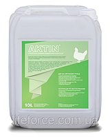 Пробиотик кормовая добавка AKTIN для птицы 10л