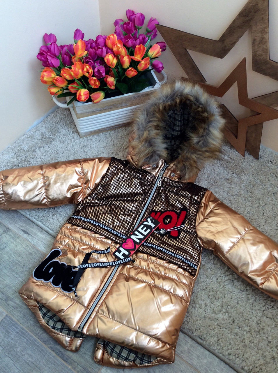 Демисезонный комплект одежды для девочки от Honey 2-5 л Турция опт и розница,  ... d0a4f272b00
