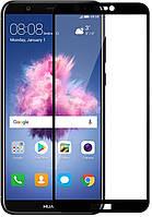 Скло захисне для телефону Huawei P Smart, 5D Full Glue, чорне
