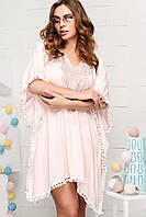 Donna-M Платье KP-10020-10, (Персиковый) Платье KP-10020-10, фото 1