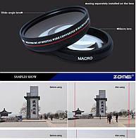 Широкоугольная насадка - оптический конвертер, wide-angle - ZOMEI - 58 мм - 0.45x
