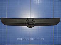 Заглушка решётки радиатора Opel Vivaro верх 2001-2006 матовая Fly.Утеплитель решётки радиатора Опель