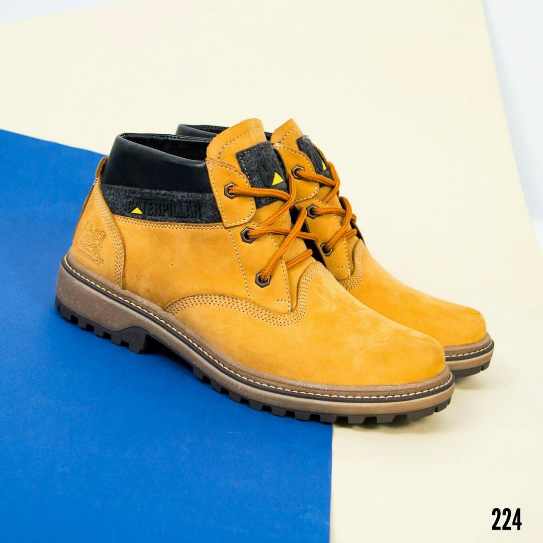 """Ботинки зимние в стиле """"C@terpillar"""""""