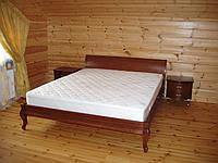Кровать из натурального дерева «Полесье-1», фото 1