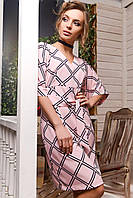 Donna-M Платье KP-5893-15, (Розовый) Платье KP-5893-15, фото 1