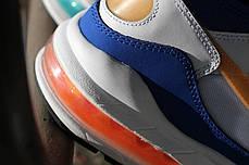 Мужские кроссовки Nike Air Max 93 Nebula Blue Orange 306551-104, Найк Аир Макс 93, фото 3