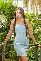 Donna-M Платье KP-5954-11, (Голубой) Платье KP-5954-11, фото 1