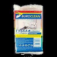 Губки кухонні 5шт, 100х70мм BuroClean EuroStandart