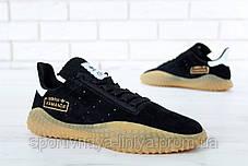 Кроссовки мужские черные Adidas Kamanda (реплика), фото 2