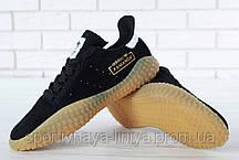 Кроссовки мужские черные Adidas Kamanda (реплика), фото 3