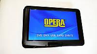 """Портативный DVD-проигрыватель Opera 1680 15,6""""  с Т2 TV USB SD"""