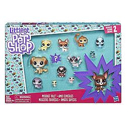Игровой набор Littlest Pet Shop Маленький зоомагазин 13 зверюшек  Призрачные приятели  Mischief Pals