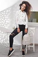 Donna-M Рубашка BK-7612-3, (Белый) Рубашка BK-7612-3, фото 1