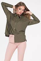 Donna-M Рубашка BK-7639-12, (Зеленый) Рубашка BK-7639-12, фото 1