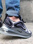 Мужские кроссовки Nike Air Max 720 Gray. Живое фото. Топ реплика, фото 6