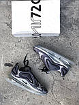 Мужские кроссовки Nike Air Max 720 Gray. Живое фото. Топ реплика, фото 9