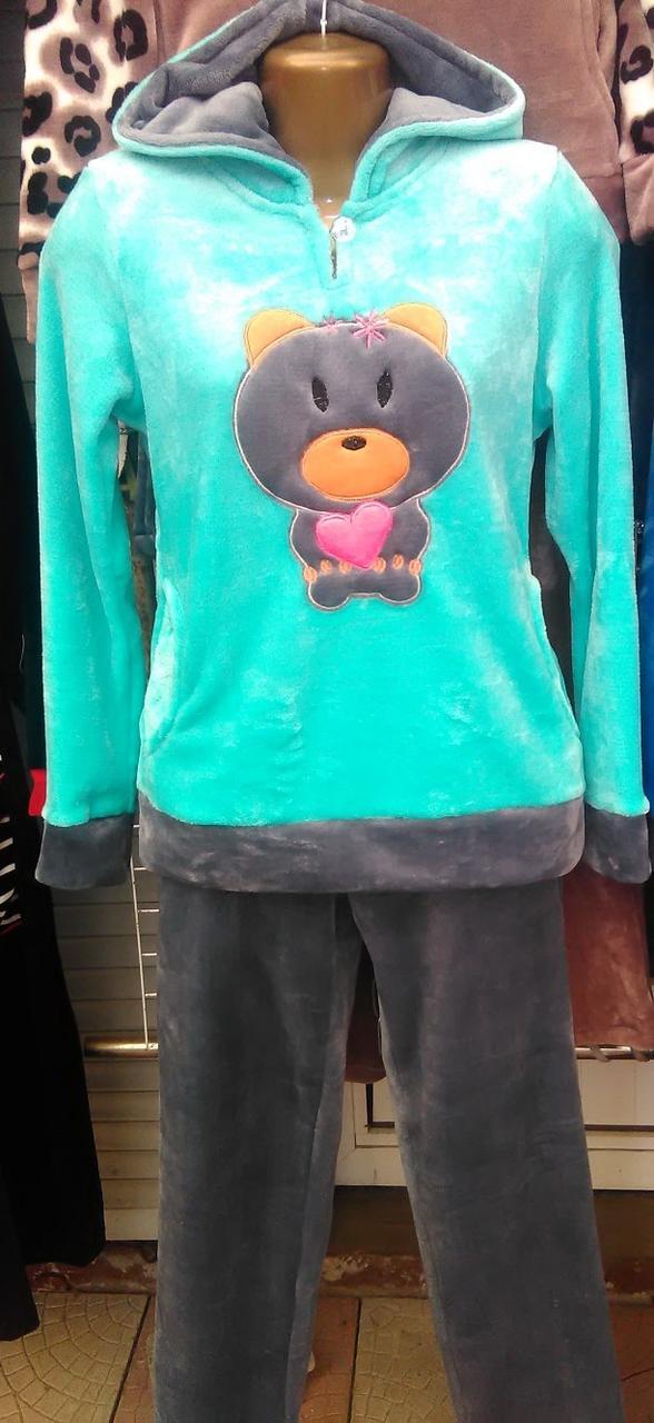 60a1c3d90b5a4 Купить Женская махровая пижама-Турция продажа в интернет-магазине ...