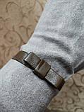 Замш+Замш с сенсором тонкий женские перчатки для работы на телефоне плоншете ANJELA стильные только оптом, фото 3
