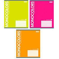 Зошит 48арк клітинка   MonoColors  760930 (1Вересня) (10/200)