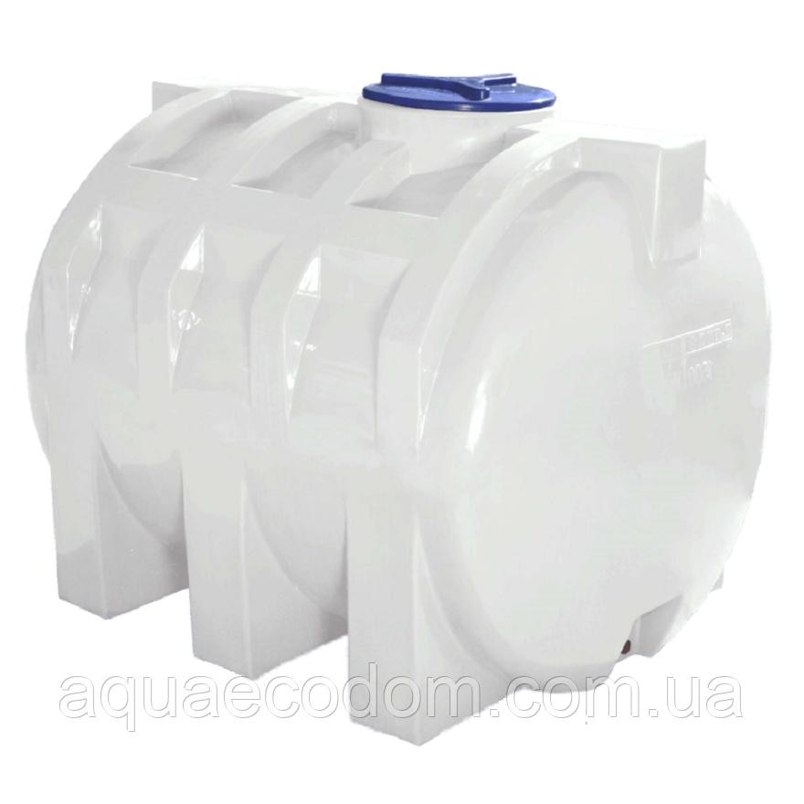 Емкость 1500 литров (Горизонтальная).