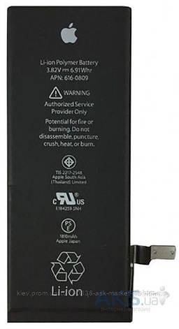 Аккумулятор Apple iPhone 6 / 1810 mAh / Оригинал, фото 2