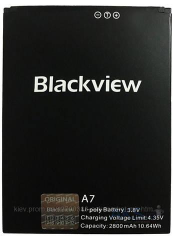 Аккумулятор Blackview A7 / 2800 mAh / Оригинал, фото 2
