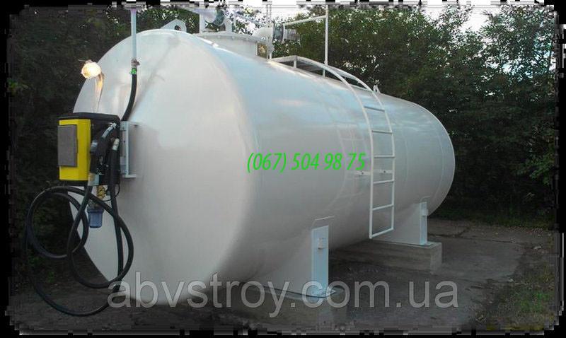 Контейнерная мини АЗС для дизельного топлива 40000 литров