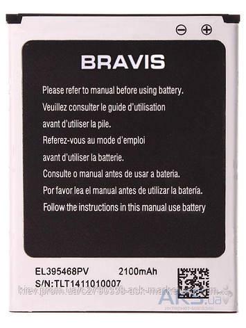 Аккумулятор Bravis Mega / 2100 mAh / Оригинал, фото 2