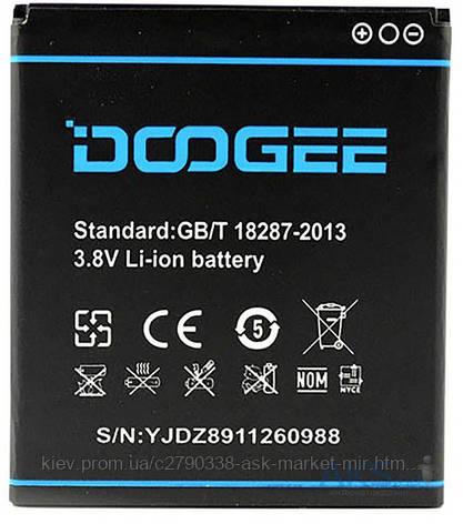 Аккумулятор DOOGEE DG800 Valencia / B-DG800 / 2000 mAh / Оригинал, фото 2