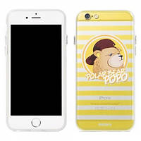 Remax Polar Bear case for iPhone 6S Yellow